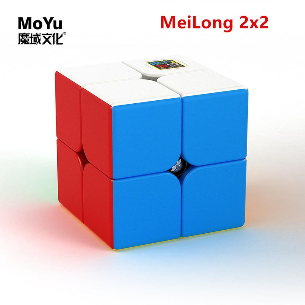 Moyu 2x2x2 Cube Meilong 2x2x2 3x3x3 4x4x4 5x5x5 Magic Cube MEILONG 2x2x2 Speed Cube Moyu 2x2 Cubo Magic 2x2x2 Puzzle Cube