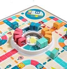 Jeu d'échecs volants pour enfants de 4 à 6 ans, parent-enfant, interactif, jeu de société, puzzle, saut, dames