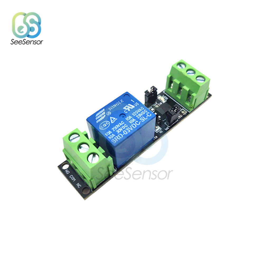DC 3V/3.3V 1 Channel High Level Driver Relay Module Optocoupler Isolated Drive Control Board for Arduino SRD-DC03V-SL-C