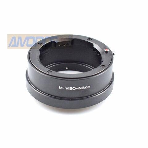 Adaptador para Leica Lente para Nikon Viso-ai Viso Visoflex Adaptador df d4 D810 D750 D5300 D610 m f