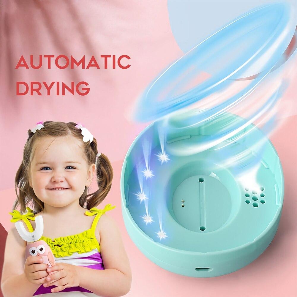 usb silicone crianças dentes escova clareamento à prova dwaterproof água
