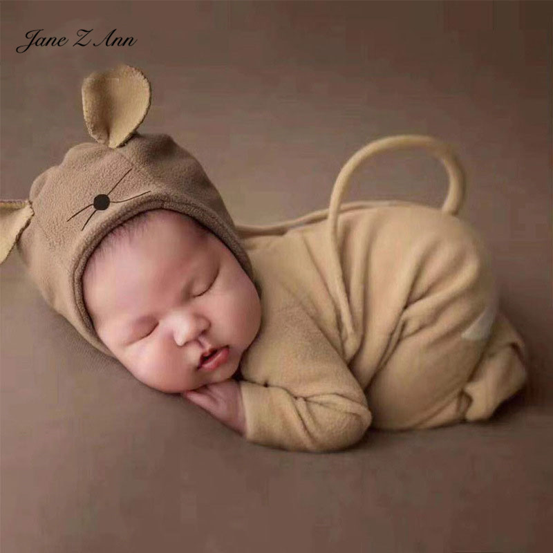 Jane Z Ann Newborn Photography Props Rat Clothing Baby Mouse Costume Hat Romper New Year Studio Shooting Outfits Hats Caps Aliexpress