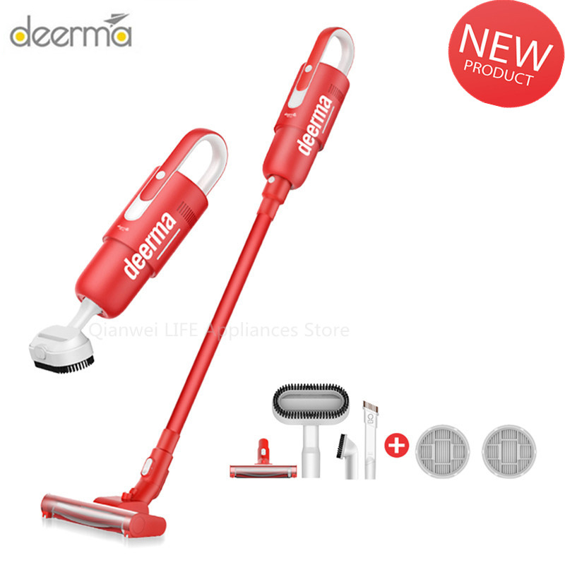 Deerma DEMVC21 Wireless Handheld  Vacuum Cleaner Household Sweeper Strong Suction Low Noise Light Aspirator Cleaning Machine