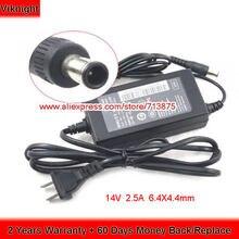 Оригинальный адаптер 14 в 25 А 35 Вт Φ dc14v для ЖК монитора
