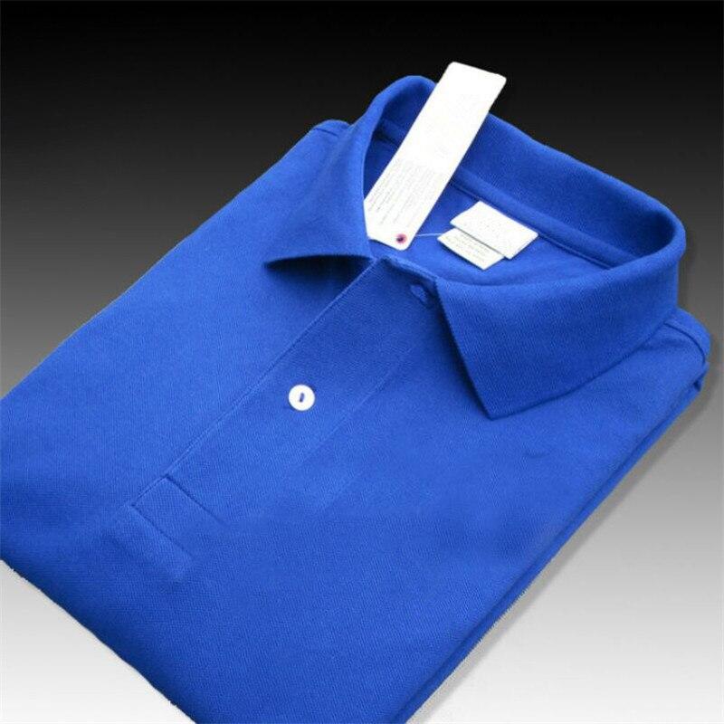 Men Summer Polo Shirt 2019 Brand Men's Fashion Cotton Short Sleeve Polo Crocodile Shirts Male Solid Jersey Breathable Tops Tees