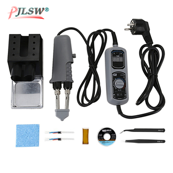 YIHUA 110V/220V EU/US Plug 938D Portable Hot Tweezers Mini Soldering Station Hot Tweezer For BGA SMD Repairing image