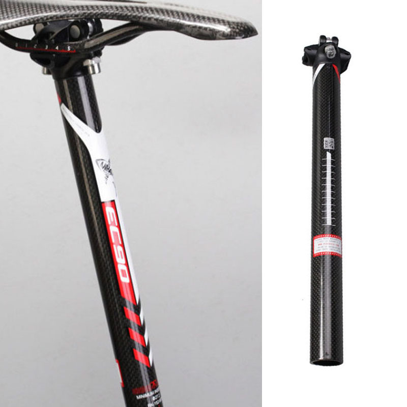 27.2mm Oval Concepts Carbon MTB 800 Seatpost 400mm