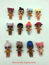 Novo genuíno lol surpresa bonecas lols originais bonecas surpresa ação brinquedos bonecas para a menina feminina presentes de natal 8cm