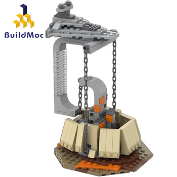 Dynamic Physics Balance In the Sky Castle Spaceship Star Wars Destroyer The Empire Over Jedha City Building Blocks Bricks Toys in stock lepin 05062 1359pcs new star series wars the star toy destroyer set 75055 building blocks bricks educational toys