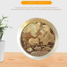 Year of the Rat Commemorative Coin Chinese Zodiac Souvenir Challenge Collectible