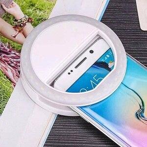 Image 5 - Taşınabilir mini cep telefonu LED retardateur flaş lens güzellik dolgu ışığı zamanlayıcı için akıllı telefon Selfie remplir la lumière