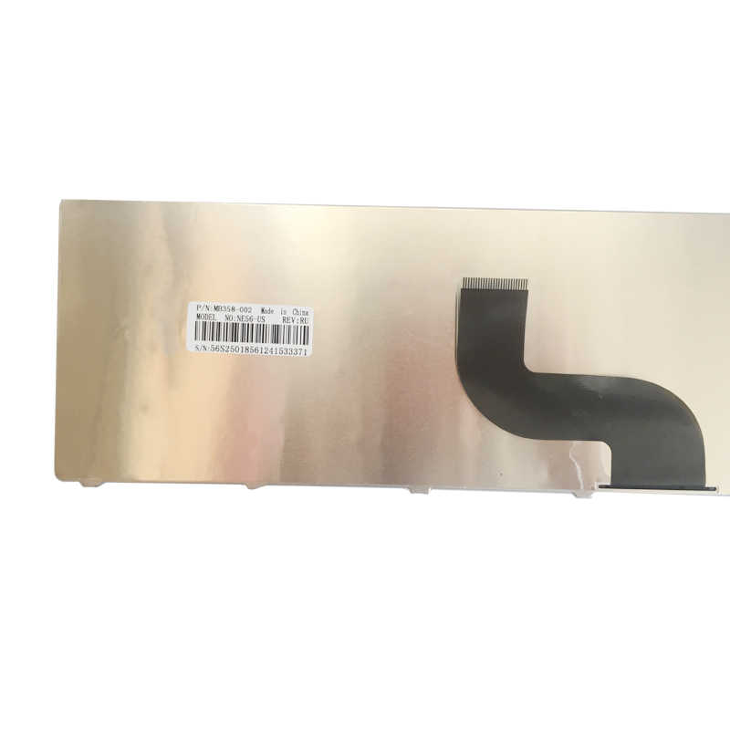 ใหม่แป้นพิมพ์รัสเซียสำหรับ Packard Bell NE71B Q5WTC Z5WT1 V5WT2 Z5WT3 Z5WTC F4036 LE EG70 EG70BZ แล็ปท็อป RU สีดำ
