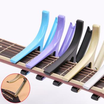Guitar Capo 2 in 1 Colorful Zinc Alloy Guitar Capo + Pin Puller for Guitar Ukulele Tuning guitar capo high quality metal fit acoustic electric guitar ukulele mandolin accessories zinc alloy metal capo
