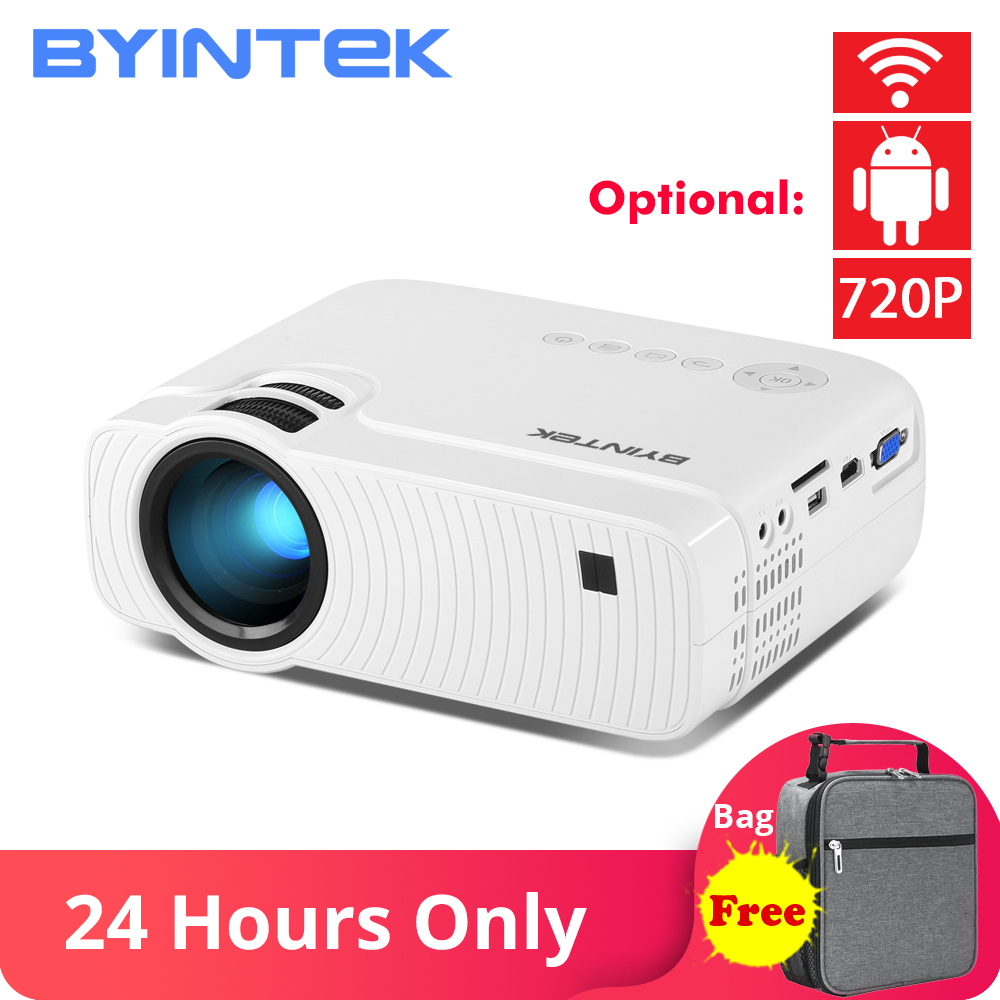 BYINTEK SKY K2 150inch LED Mini Micro Portable Video HD Projector with Speaker HD USB For Game Movie 1080P Cinema Home Theater Проектор