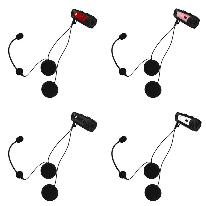Motorrad Helm Intercom M6 Bluetooth Headset Wasserdichte Sprech