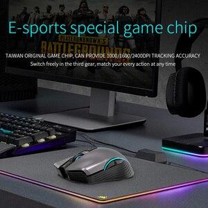 Image 3 - CHOTOG Беспроводной Мышь Bluetooth 5,0 + 2,4G игровой компьютер Мышь геймера Eergonomic 2400 Точек на дюйм Оптическая профессиональная Мышь для портативных ПК