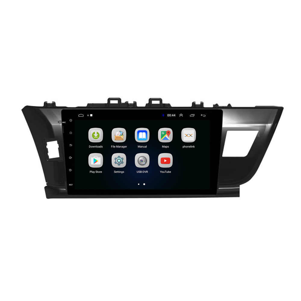 """10.1 """"4G LTE Android 8.1 pasuje do TOYOTA COROLLA 2014-multimedialny Stereo samochodu ODTWARZACZ DVD radio nawigacja GPS"""