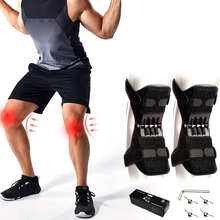 Adult Joint Support Knee Pads Breathable Non-slip Power Lift Sport Old man Protective Tool 1pcs/2pcs