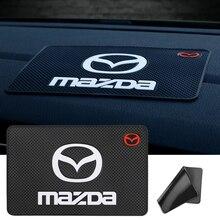 1Pcs Car Dashboard Sticky Anti Slip PVC Mat For Mazda Mazda 6 Mazda 3 Mazda 2 CX3 CX4 CX5 CX7 CX9 CX30 RX8 MX5 MX3 MS MP Demio