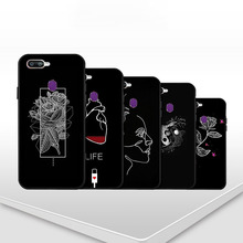 Cool Design Patterns Soft TPU Back Cover case For O