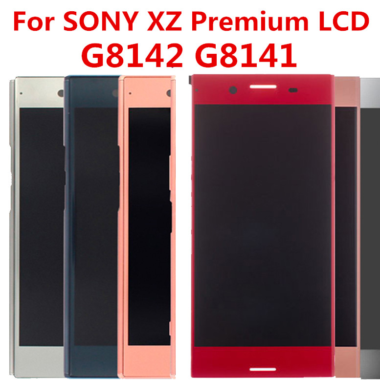 ЖК дисплей с дигитайзером сенсорного экрана в сборе для SONY Xperia XZ, XZP, G8142, G8141, с рамкой, ЖК экран 5,5 дюйма|Экраны для мобильных телефонов|   | АлиЭкспресс