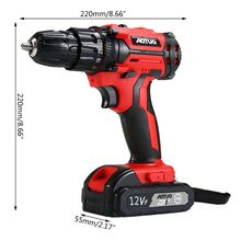 Electric-Screwdriver Battery Lithium-Ion Rechargeable 12V