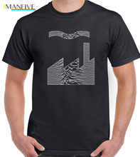 купить Joy Division Factory Records Mash Up Mens T-Shirt FAC51 Unknown Pleasures CD Fashion Men And Woman T Shirt Free Shipping по цене 874.06 рублей