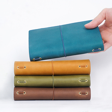 100% Genuine Leather Notebook Planner Handmade Journal Oil Wax Leather Agenda Sketchbook Personal Diary School Stationery