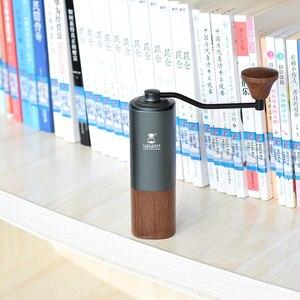 Image 1 - Tiemore kasztan G1 uchwyt młynek do kawy aerolite przenośny rdzeń szlifierski ze stali super ręczny młynek do kawy dulex łożysko