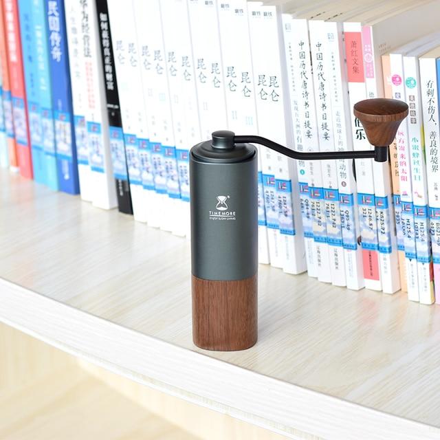 Timemore Chestnut G1 Handle coffee grinder aerolite portable steel grinding core  super manual coffee mill dulex bearing
