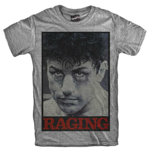 Raging Bull T-Shirt Robert De Niro Boxing Movie Jake LaMotta Martin Scorsese- Show Original Title image