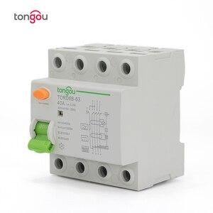 Image 3 - 4P 63 а Тип B 10KA RCCB RCD 230 В 400 в 30 мА автоматический размыкатель остаточного тока