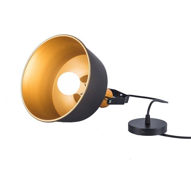 New Arrived LED Pendant lights Vintage Loft E27 Hang lamp and 12W Pendant Lamps Aluminum dining lamp Wood Hanging Lightings 5