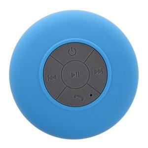 Портативный автомобильный беспроводной bluetooth-динамик для ванной комнаты (синий)