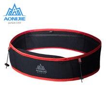 "AONIJIE W938S Slim Jogging Running Waist Belt Bag Pack Travel Money Trail Marathon Gym Workout Fitness 6.9"" Mobile Phone Holder"