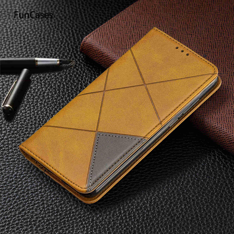 מקרי טלפון נייד עבור Huawei Honor 8S צבע התאמת עור מפוצל ספר מקרה Huawei etui Y5 2019 כבוד 10 לייט 10i 7A 7C 8A מקרה