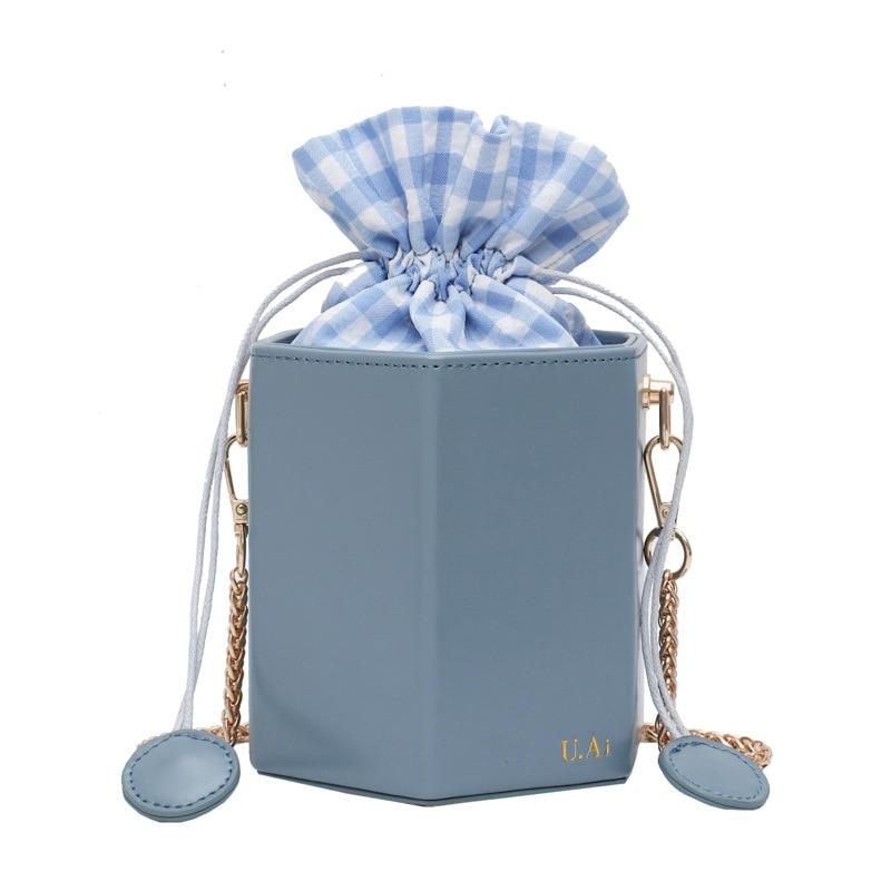 2020 New Chain Bucket Bag Women's Bag Summer Round Messenger Bag Femme Western Style Shoulder Bag Korean Style|Shoulder Bags| - AliExpress