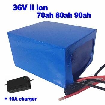 GTK-batería de iones de litio para motor eléctrico, cargador de 10a, 36v,...