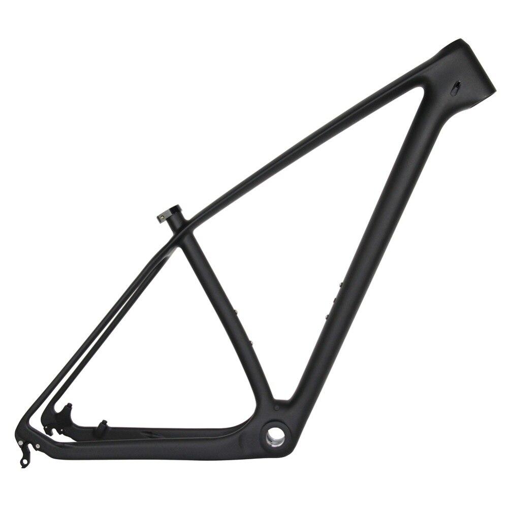 Best Spcycle 27.5er 29er T1000 Carbon MTB Bicycle Frame 650B Mountain Bike Carbon Frame BSA 73mm Compatible With 142*12mm or 135*9mm 3