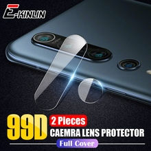 Protector de pantalla de lente de cámara trasera película protectora para XiaoMi Mi 10 9T 9 SE Lite Redmi Note 9 S 8T 8 7 6 Pro Max Vidrio Templado
