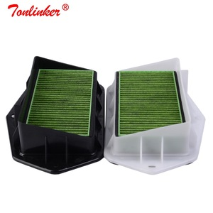 Image 3 - 3 holes Cabin Air Filter For Vw Passat Golf Touran Audi Skoda Octavia Yeti Seat Altea Leon Efficient Anti PM2.5 External Filter