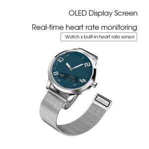 Image 4 - Lenovo שעון X לב שיעור דם לחץ Bluetooth Smartwatch ספיר מראה ספורט שעון מתכת IP68 עמיד למים עבור גברים נשים