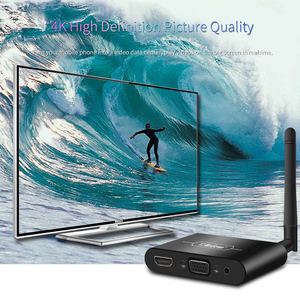 Image 5 - Mirascreen X6W Plus 5G 4K Miracast Wireless DLNA AirPlay HDMI VGA AV TV Stick Wifi Display Dongle Receiver for IOS Android Car
