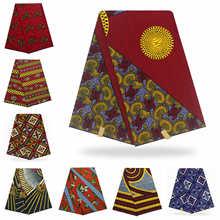 Дизайн голландский настоящий воск африканская одежда Высокое качество хлопок воск африканская ткань для вечерние платья Горячая Распродажа дизайн
