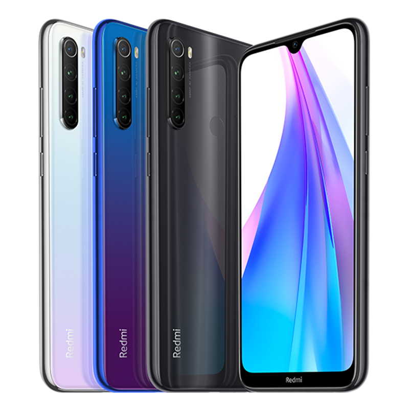 Image 4 - In Stock Global Version Redmi Note 8T 4GB 64G 48MP Camera Cellphone 6.3 Display Snapdragon665 Octa Core 4000mAh 18W Google PayCellphones   -