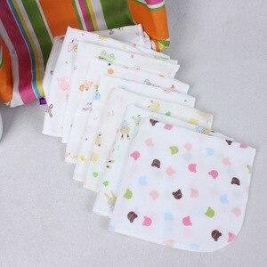 10 sztuk/partia śliniaki dla dzieci bawełniane śliniaczek dla dzieci rzeczy Bib akcesoria Cartoon chłopcy dziewczęta szalik przeciw zabrudzeniom chłonne śliniaki dla dzieci szalik