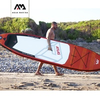 AQUA MARINA ATLAS 366*84*15cm inflatable surfboard stand up paddle board surfing water sport sup board SUP surfboard