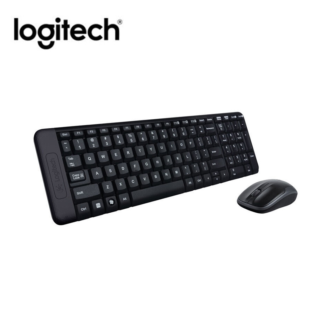 Logitech MK220 Gaming Keyboard Mouse Combo 2.4GH Wireless Keyboard With USB Receiver For Desktop Computer PC Laptop And Smart TV