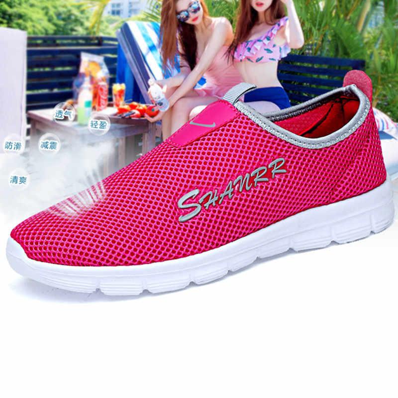 Damyuan 2019 ชายรองเท้าสบายๆแฟชั่นผู้ชาย Comfortables Casual Plug ขนาด 48 46 กีฬาชายรองเท้าผู้ชายรองเท้าผ้าใบรองเท้าผู้หญิง