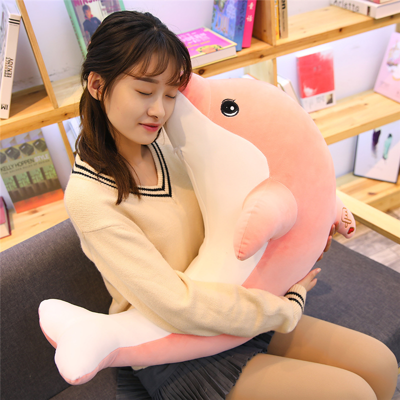 Cute Huge Stuffed Animals Plush Sea Toy Hand Warmer Simulation Lovely Cute Plush Toy Stuffed Furry Juguetes Soft Toys JJ60MR